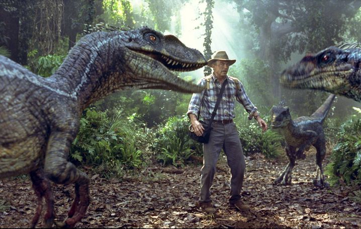 "Crichton-Verfilmung ""Jurassic Park III"""