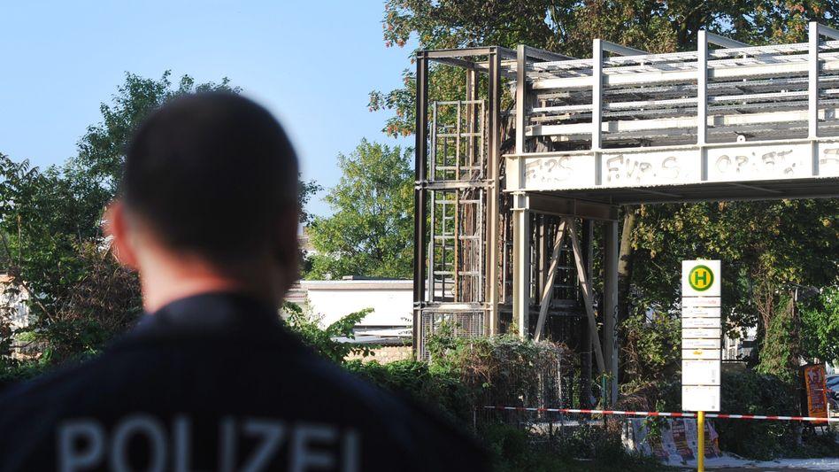 S-Bahnhof Ostkreuz in Berlin: In dieser Kabelbrücke hat es am Montagmorgen gebrannt