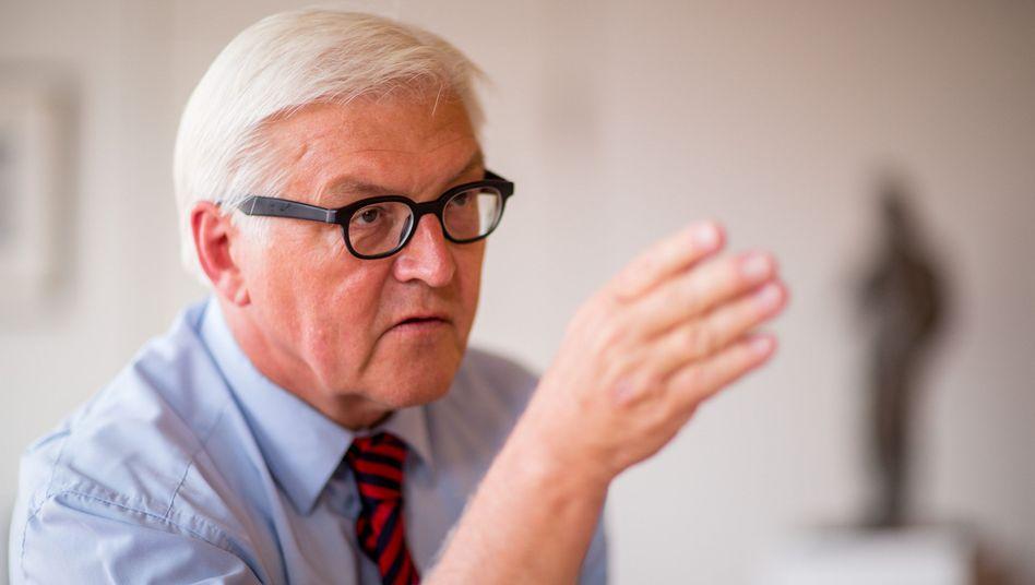 """Dr. Steinmeier: """"Hochangesehener Alumnus"""""""