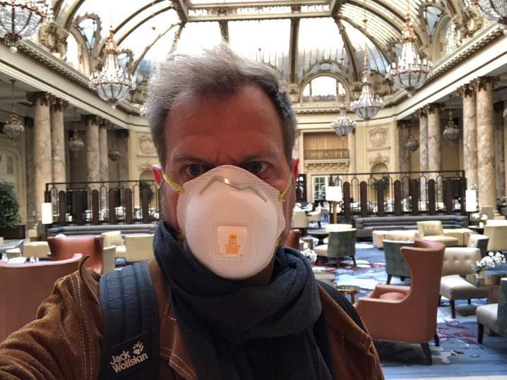 SPIEGEL-Korrespondent Mingels im Palace Hotel