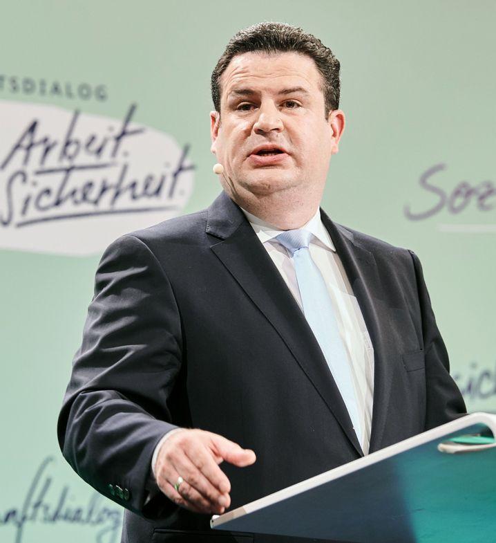 Bundesarbeitsminister Hubertus Heil (SPD): Fordert Recht auf Homeoffice