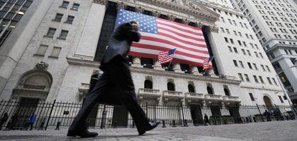 Die New York Stock Exchange: Bangen vor dem Börsenstart
