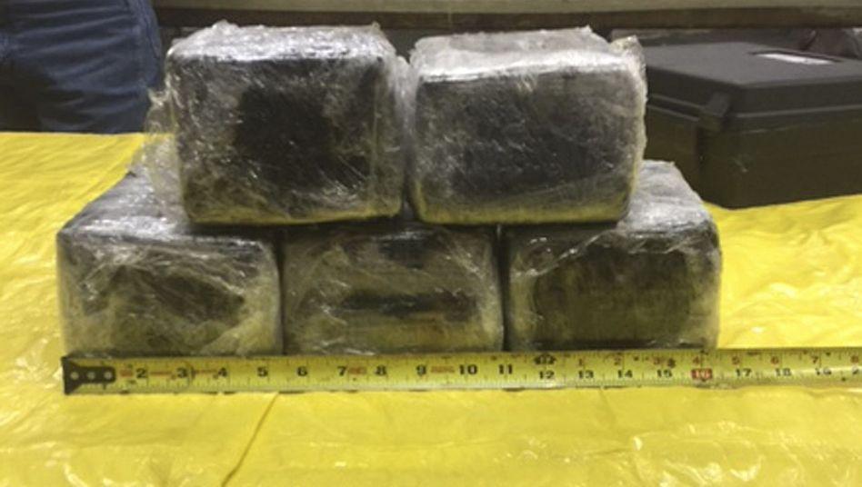 Kokainfund aus Tulsa im US-Bundesstaat Oklahoma
