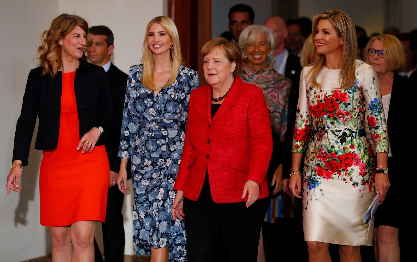 Ivanka Trump / Angela Merkel / Maxima