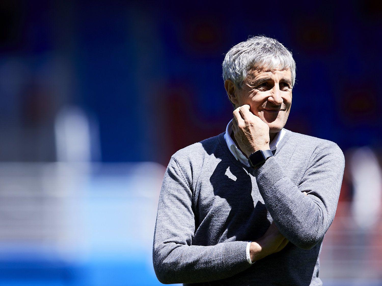 Quique Setien - neuer Trainer bei FC Barcelona