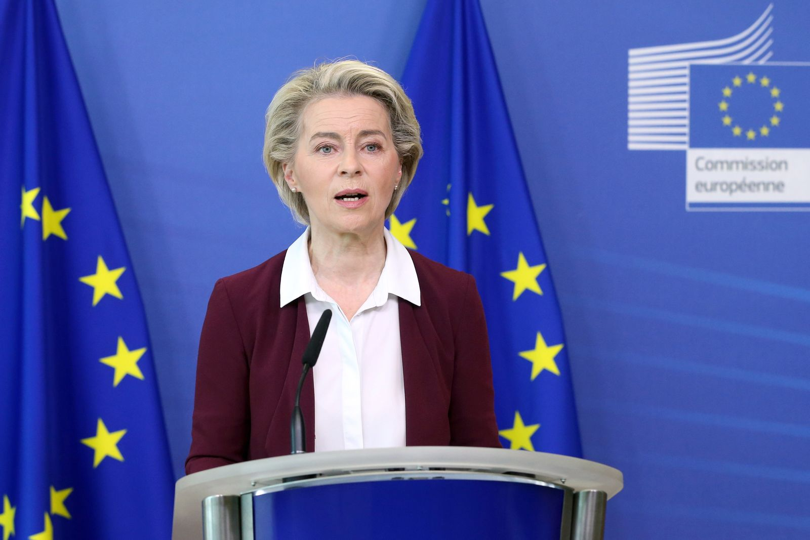 European Commission President Von der Leyen's press conference on COVID-19 vaccine