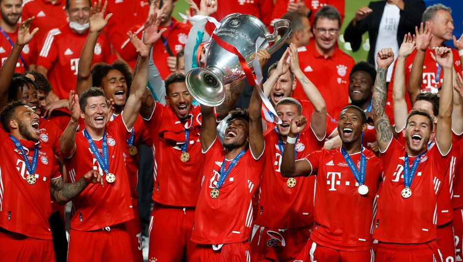 Jubel über den Champions-League-Erfolg - bald auch über den Supercup?
