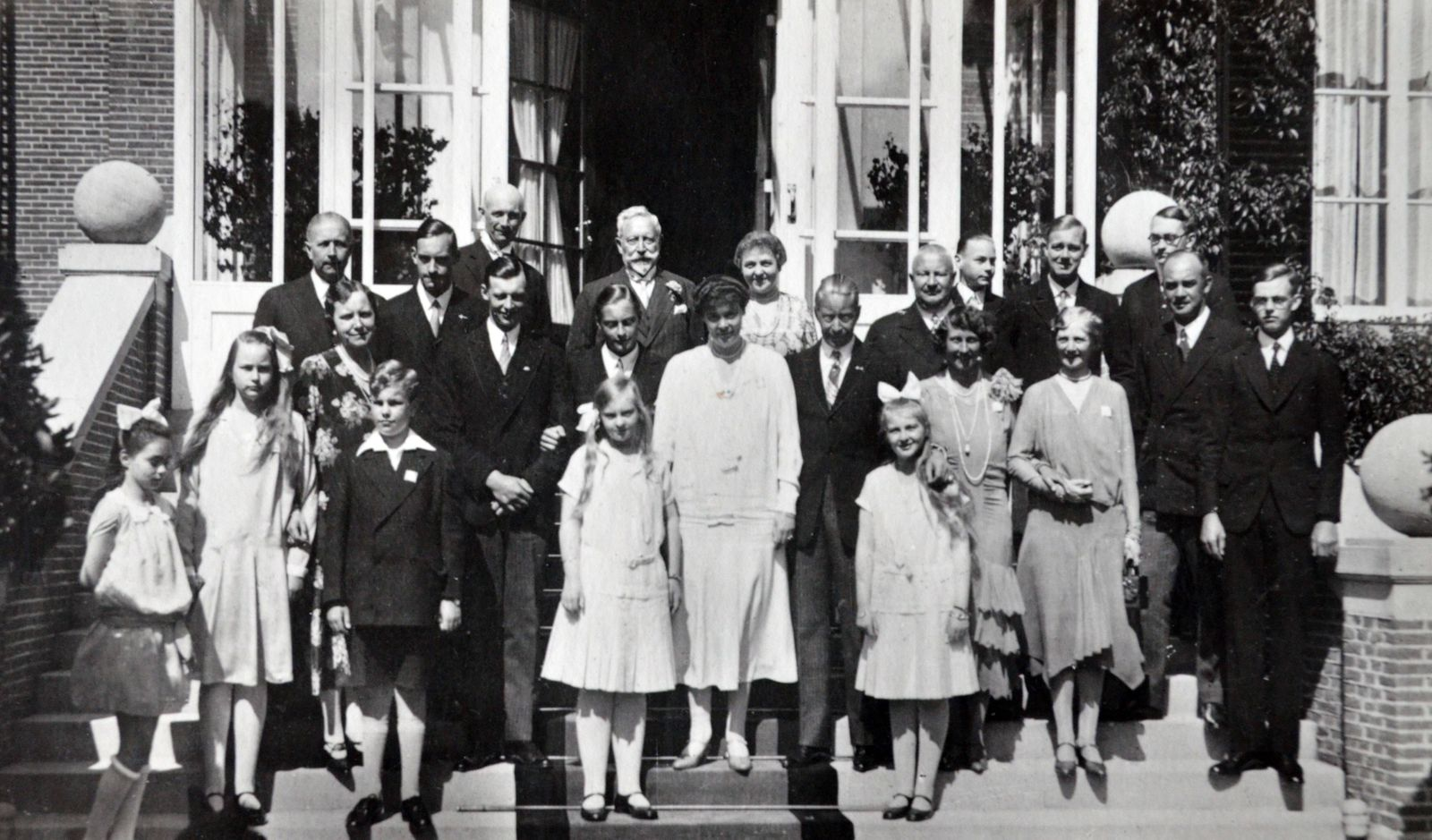 The exiled German royal family at Doorn Netherlands 1924 The exiled German royal family at Doorn N