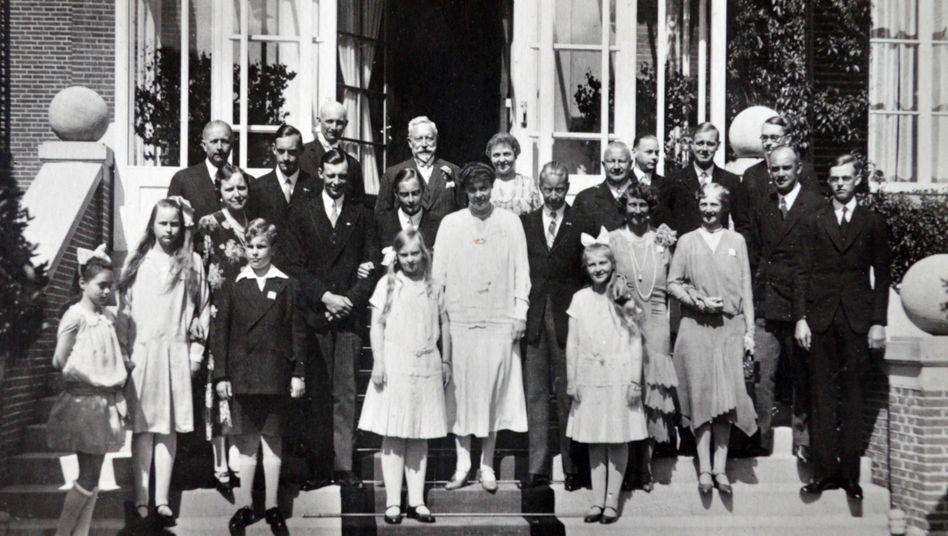 Kaiserliche Familie in Doorn 1924