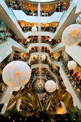 Kaufhaus (in Leipzig): Zum Geldausgeben bleibt den Verbrauchern weniger übrig