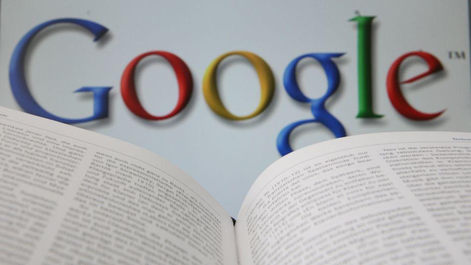 Google im Hintergrund: Wo werden die Deutschen künftig Bücher finden?