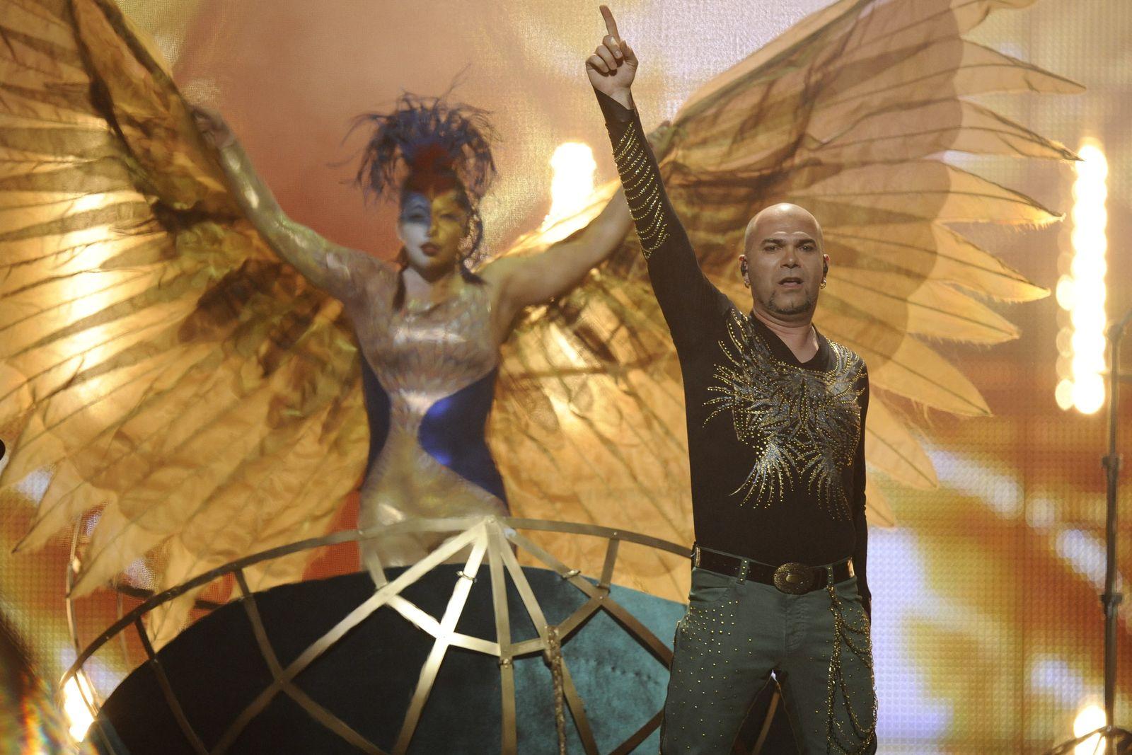 NICHT VERWENDEN Eurovision 1. Halbfinale