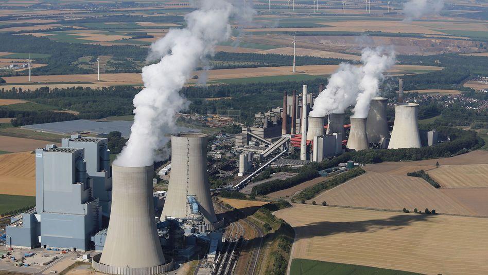 RWE-Braunkohlekraftwerke Neurath