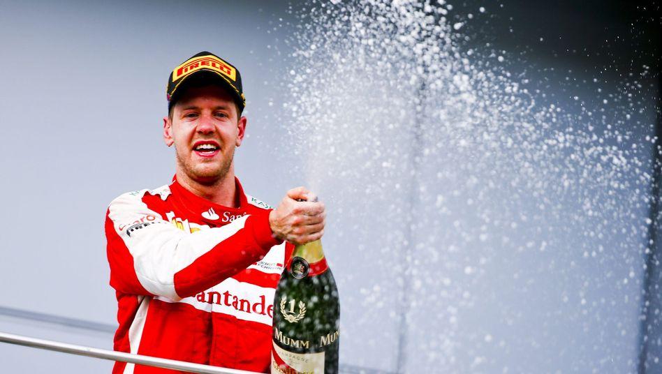 """Ferrari-Sieger Vettel: """"Wir haben sie fair geschlagen"""""""