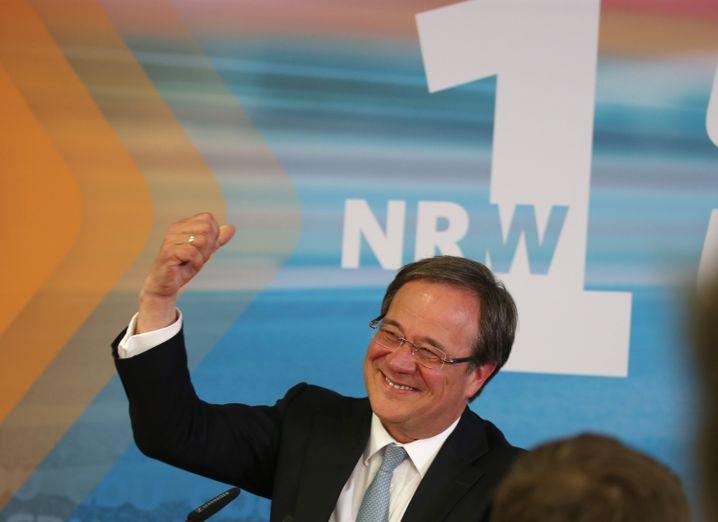 Der wahrscheinliche künftige Ministerpräsident Armin Laschet