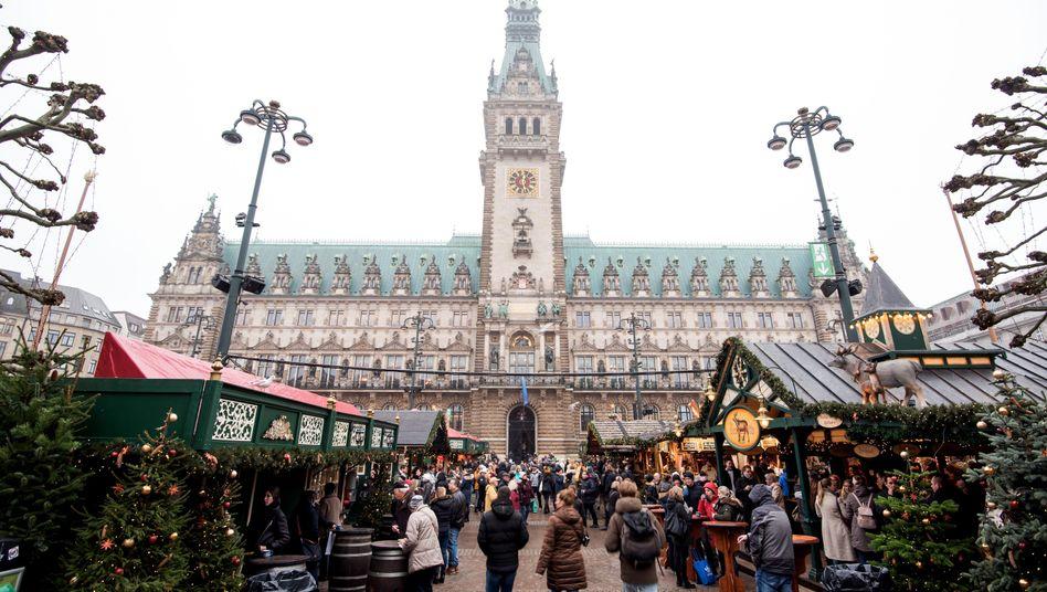 Wer zieht 2020 ins Hamburger Rathaus ein?