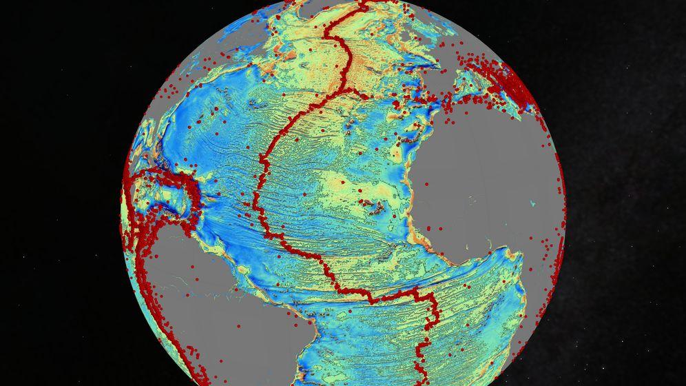 Atlas der Meeresböden: Geheimnisse der Tiefe