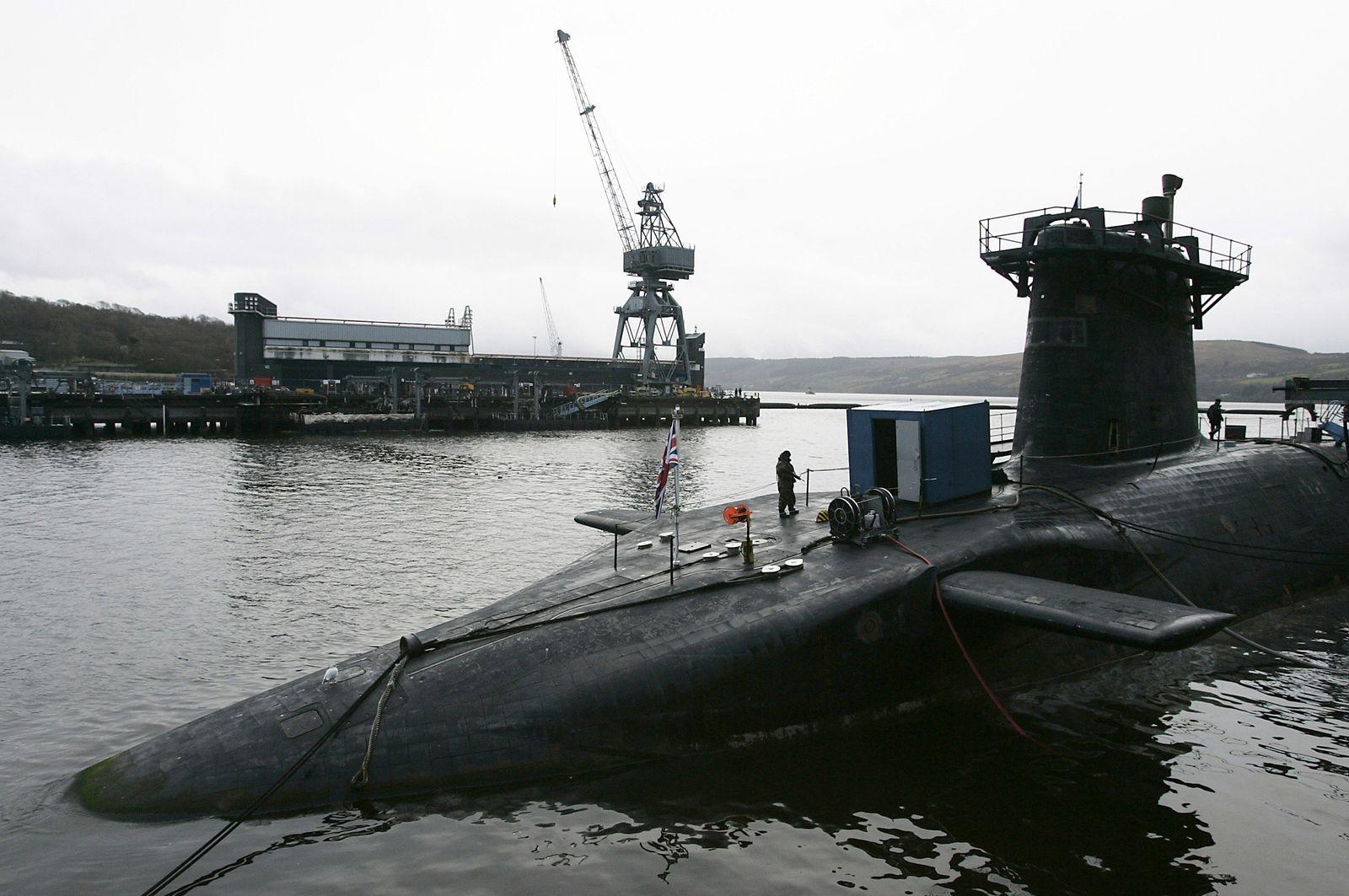 Britisches Militär / U-Boot