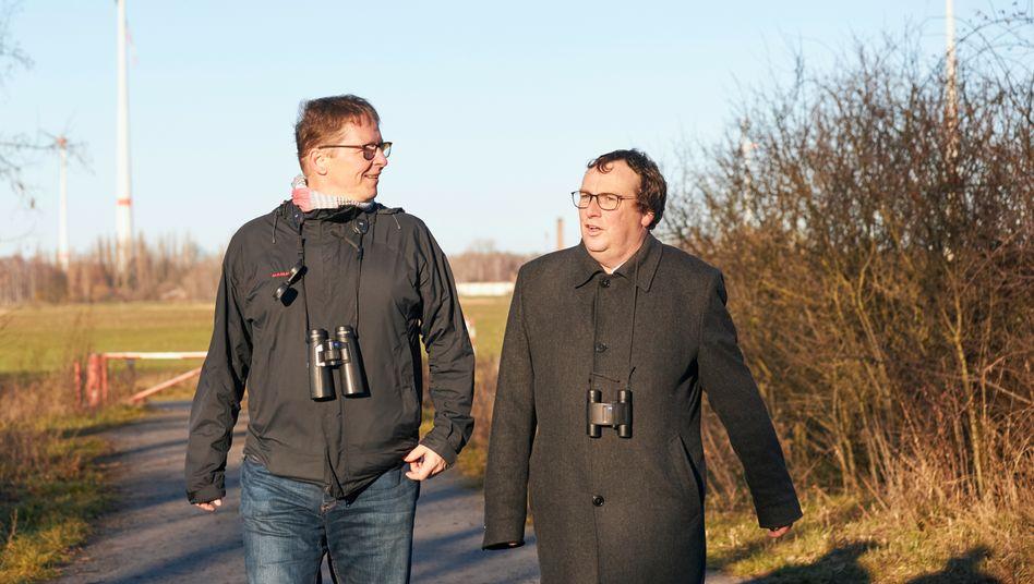 Nabu-Neu-Chef Jörg-Andreas Krüger, Grünen-Urgestein Oliver Krischer