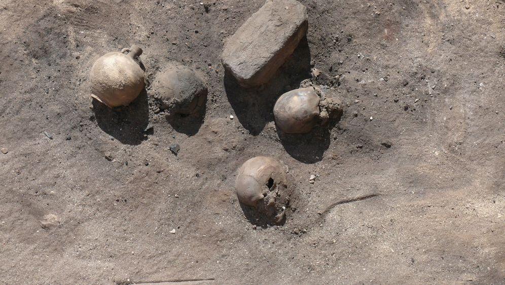 Fund am Nil: Leichen als Brennstoff