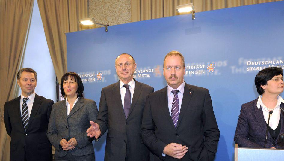 """Voß, Walsmann, Schöning, Geibert, Lieberknecht: """"Werk fortsetzen"""""""