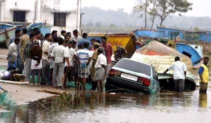 """Tsunami-Schäden in Cuddalore/Indien: """"In der Region rumst es alle Nas' lang"""""""