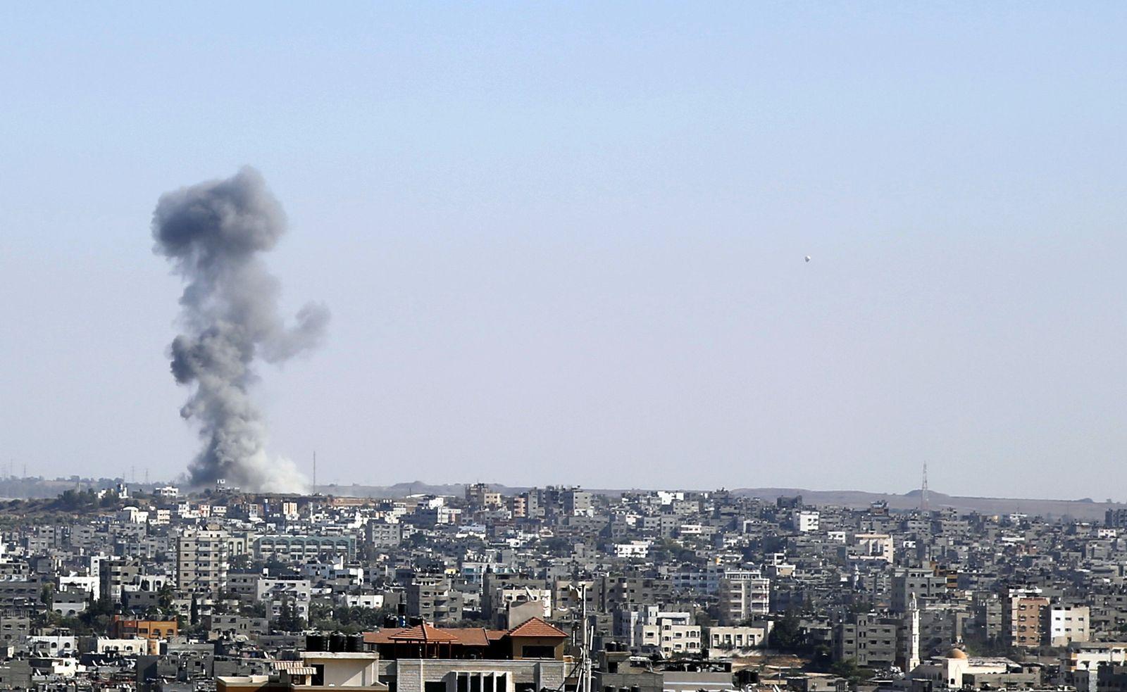 Gazastreifen Rakete Israel