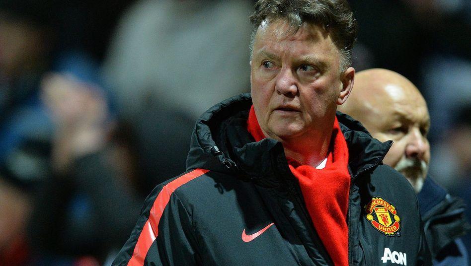 Manchester United-Coach van Gaal: Kritik an seinen Stürmerstars