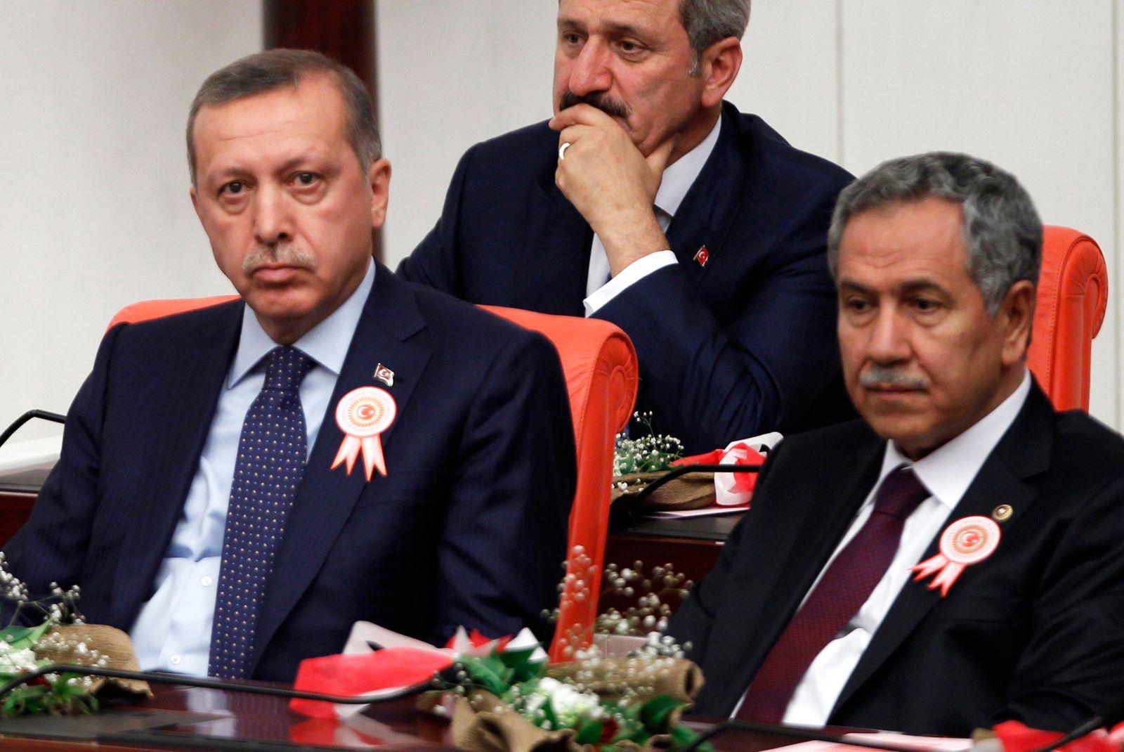 Turkey's Prime Minister Tayyip Erdogan attends swearing-in ceremony in Turkish Parliament in Ankara