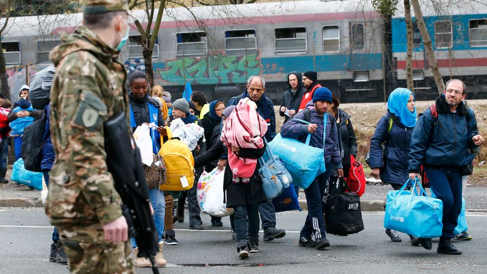 Migranten in Slowenien: Balkanroute für Flüchtlinge weitgehend abgeriegelt