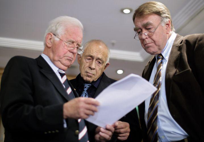 Verhandlungspartner Biedenkopf, Geißler, Schell 2007: Durchsetzungsstärke gefragt