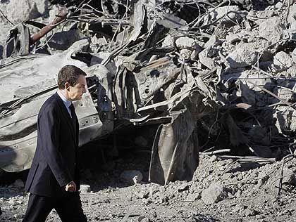 Entsetzen nach dem letzten Anschlag: Spaniens Premierminister Jose Luis Rodriguez Zapatero im Januar auf dem Flughafen Madrid