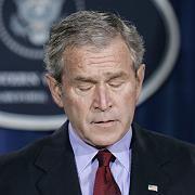 US-Präsident Bush: Das Wort Rezession kommt ihm nicht über die Lippen