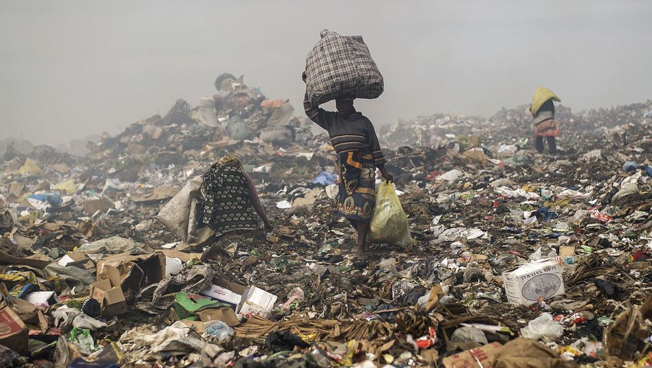 Müllhalde in Maputo (Archiv): Die Armen besitzen fast nichts