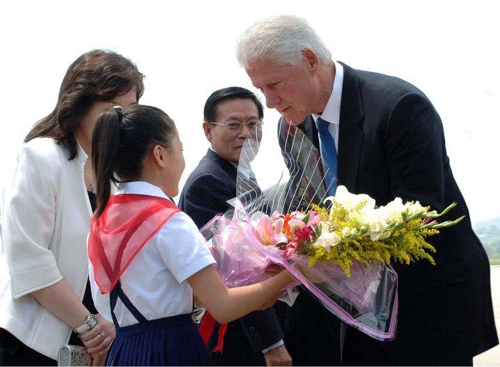 Clinton in Nordkorea: Weißes Haus spricht von rein privater Reise
