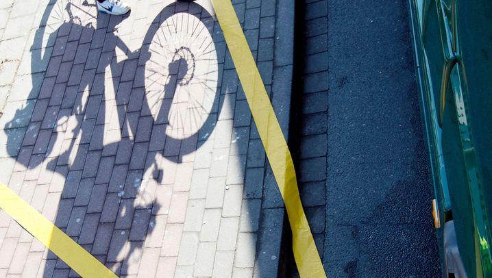 Lkw-Unfälle mit Radfahrern: die guten Helfer