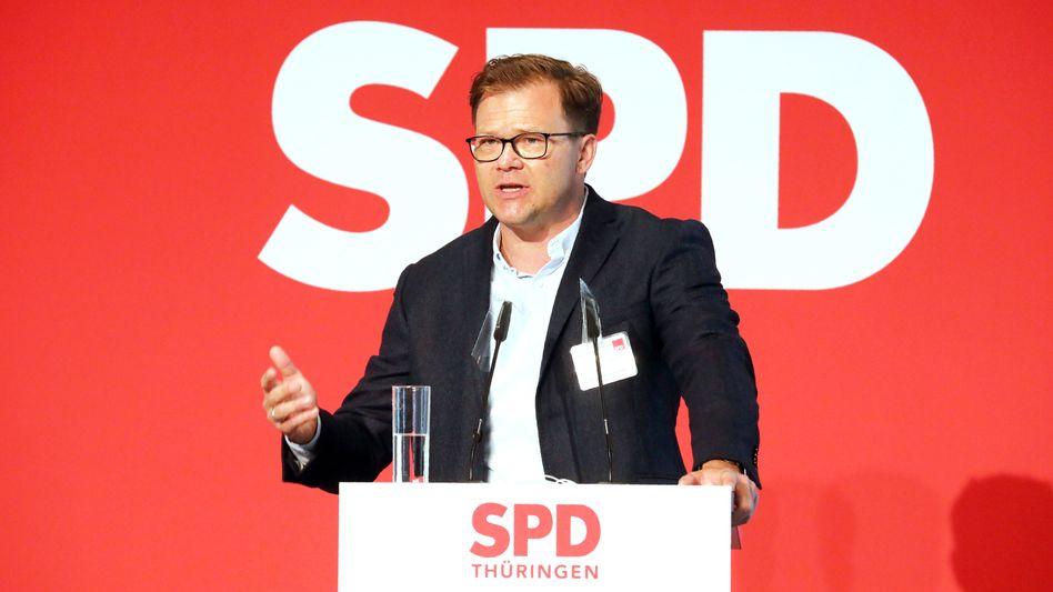 Der Erste Parlamentarische Geschäftsführer der SPD-Fraktion Carsten Schneider (Archivbild)