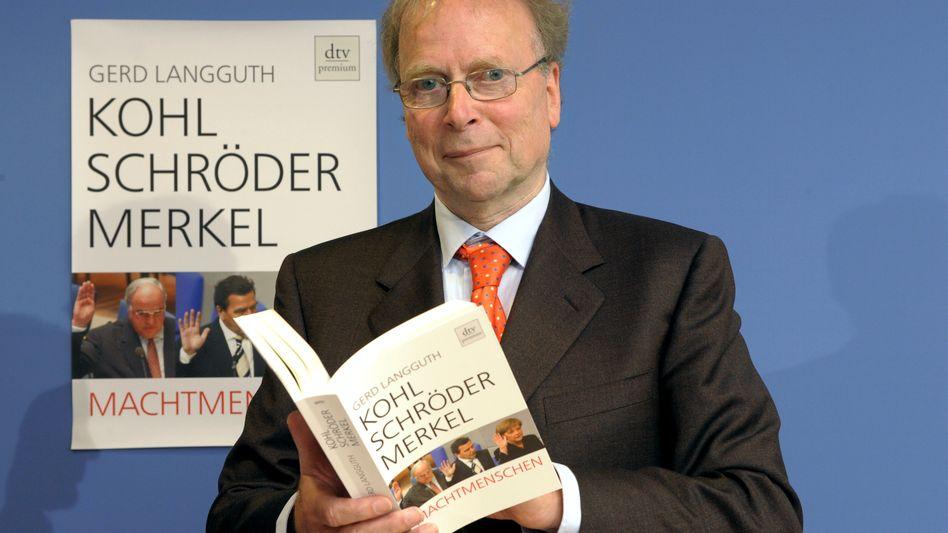 Gerd Langguth bei einer Buchvorstellung 2009: Der Kanzlerinnen-Kenner ist tot