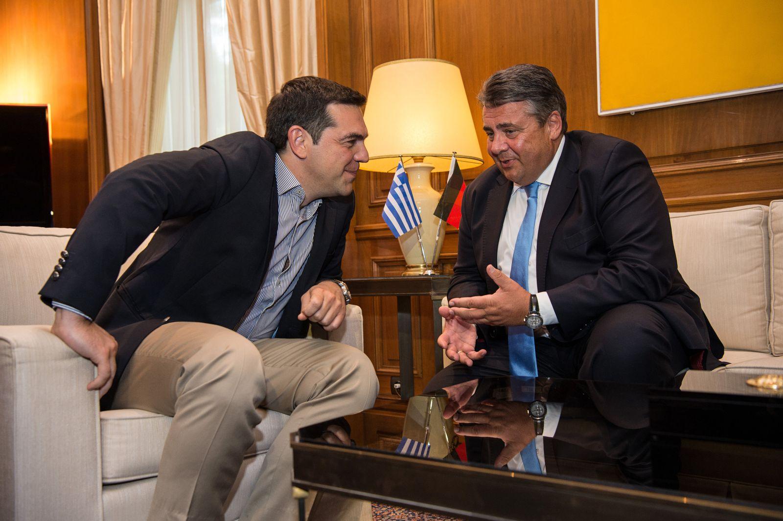 Gabriel / Tsipras