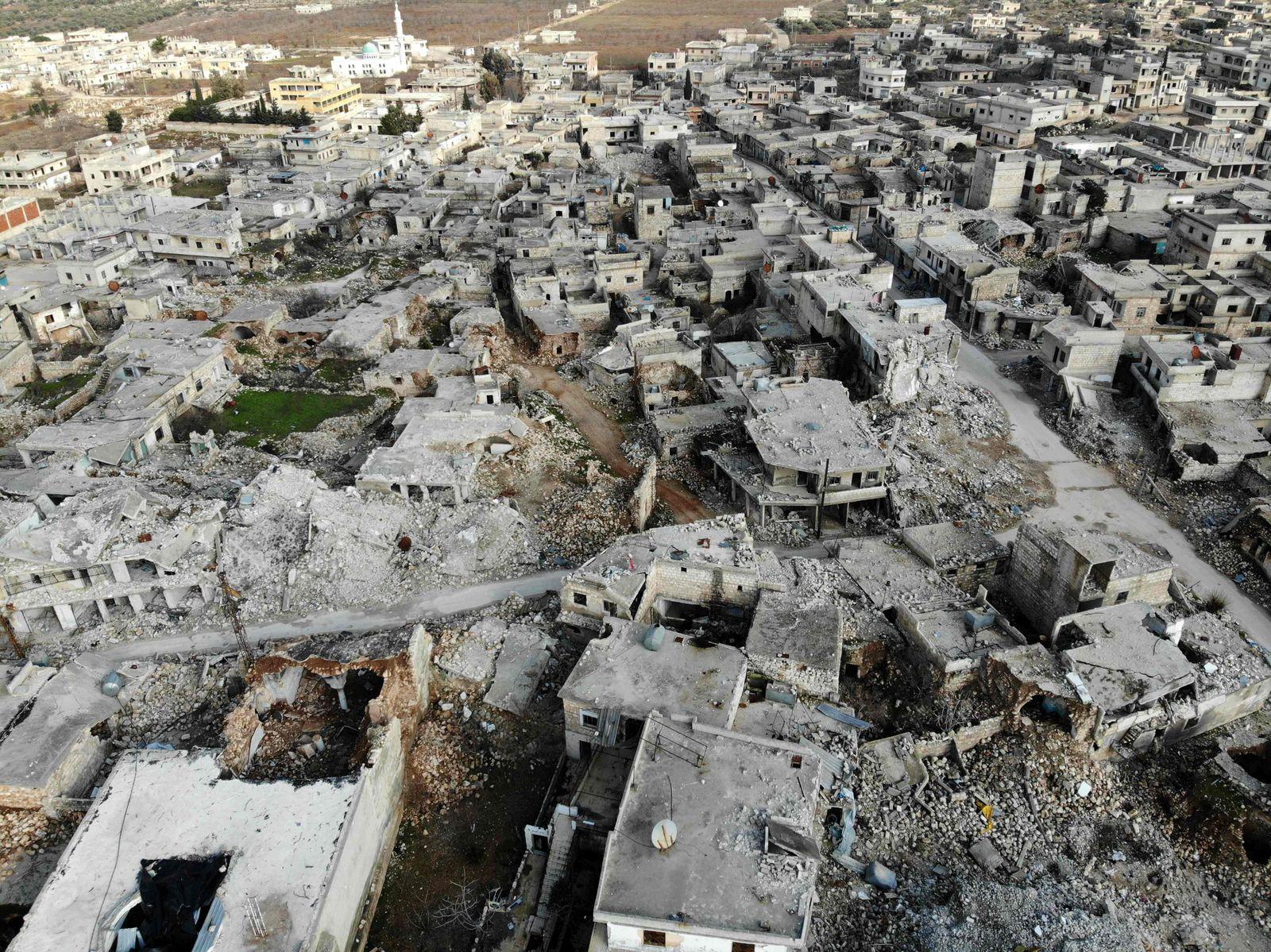 TOPSHOT-SYRIA-CONFLICT-IDLIB