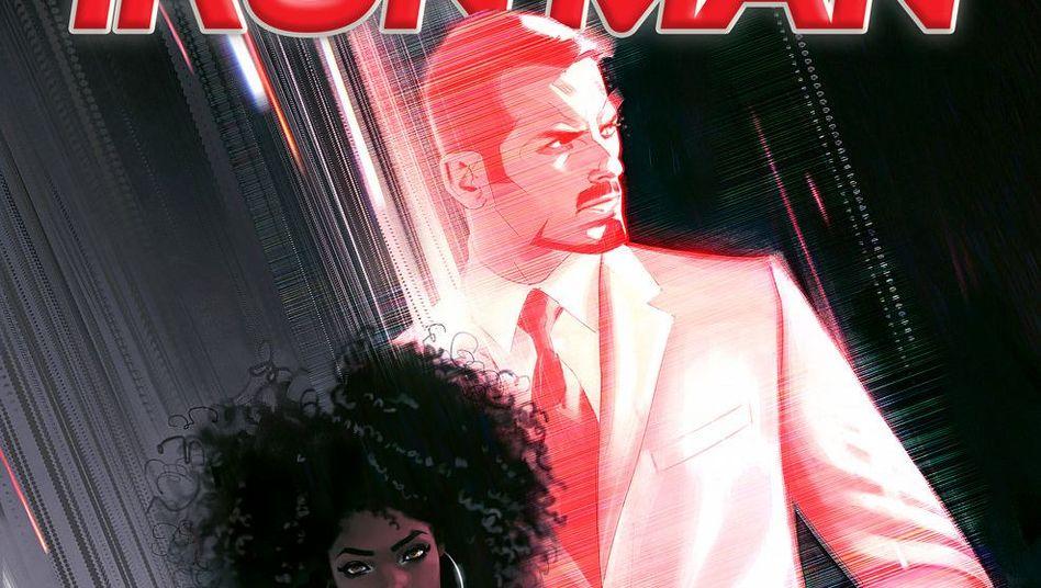 Comic-Cover mit Riri Williams