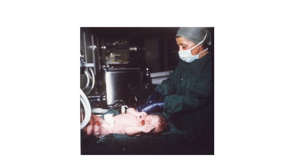 Deutschlands erstes Retortenbaby: Oliver, 4150 Gramm, Wunderkind