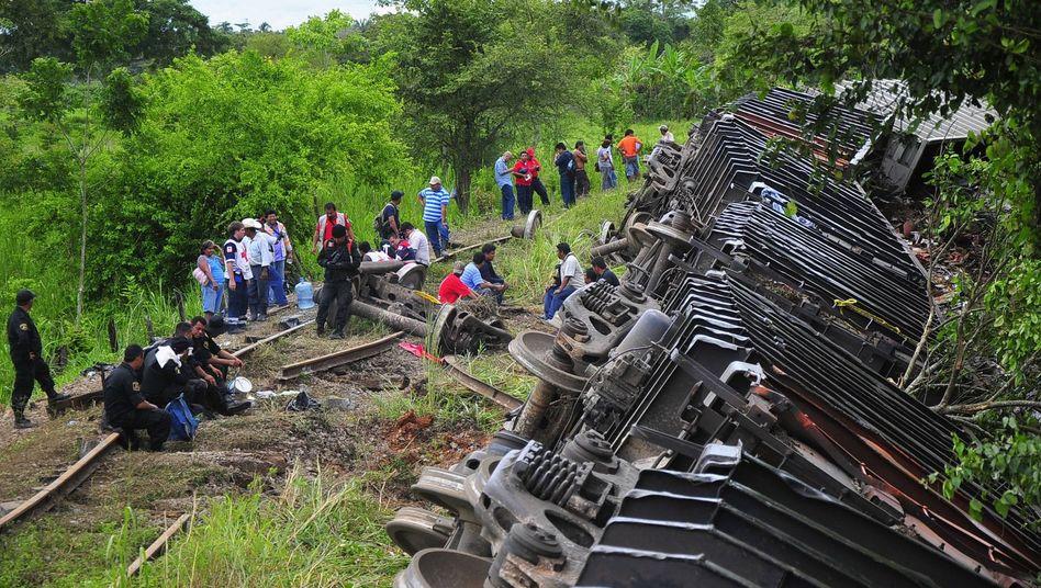 Entgleister Güterzug: Fehlende Schienenteile führten zum Unglück
