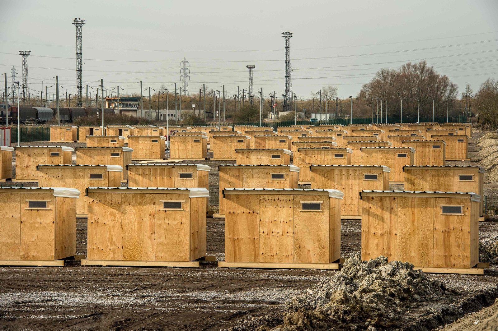 Flüchtlingslager Grande-Synthe