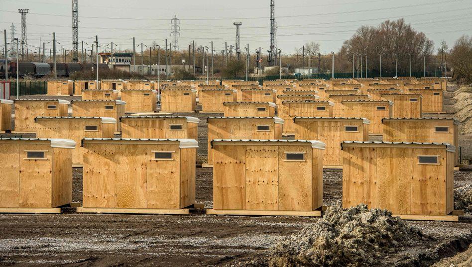 Flüchtlingslager in Grande-Synthe