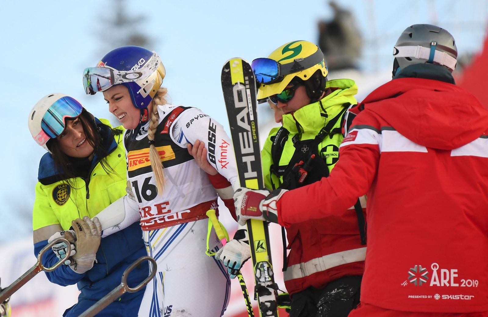 ALPINE SKI-WORLD-WOMEN-SWE-SUPER G