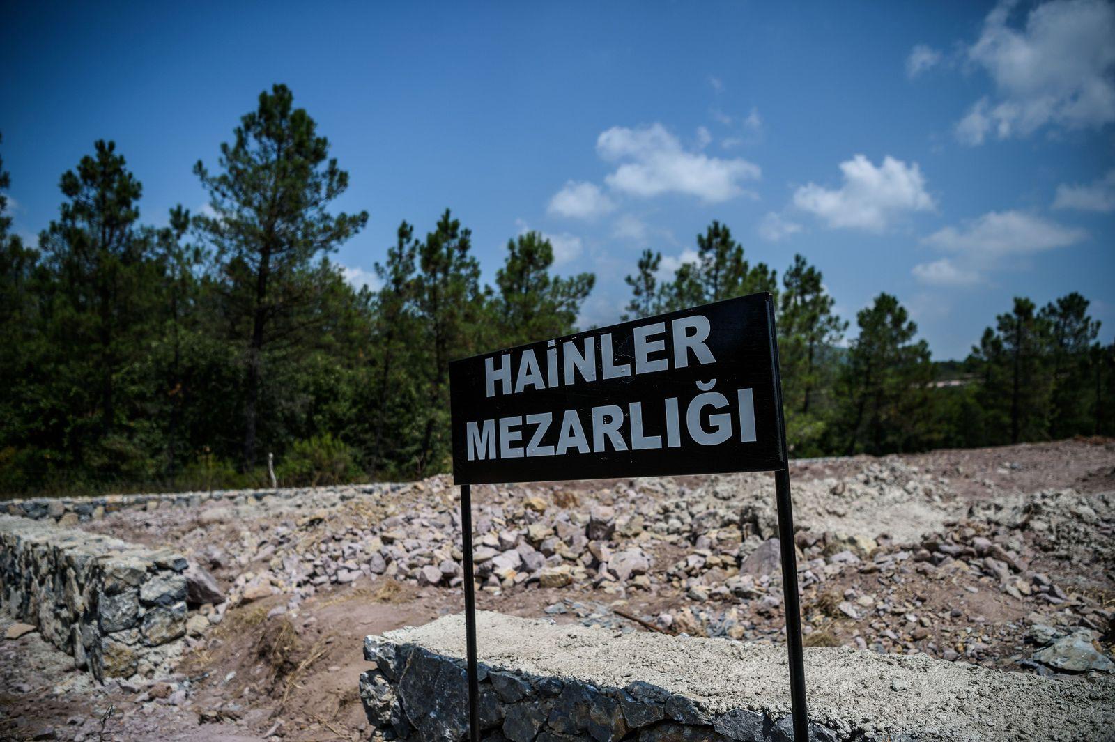 Türkei/ Friedhof/ Putsch