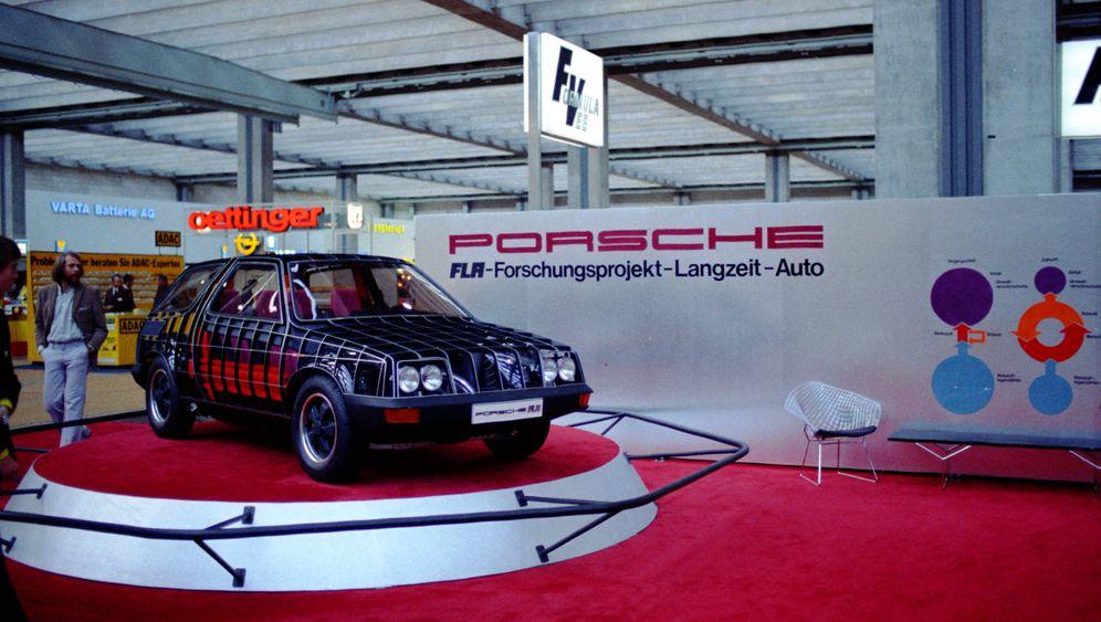 Schönes Ding: Porsche-Studie LFA: Rohstoff-Rettungs-Wagen