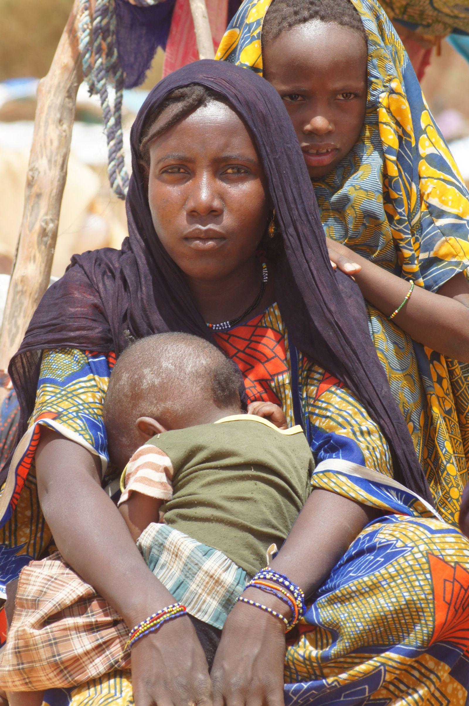 Flüchtlingslager im Niger