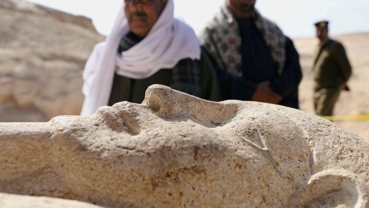 Fund in Ägypten: Keramik, Schmuck und Totenschädel